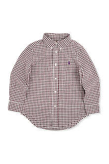 RALPH LAUREN Blake gingham shirt 7-16 years