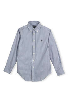 RALPH LAUREN Embroidered Oxford shirt 8-16 years