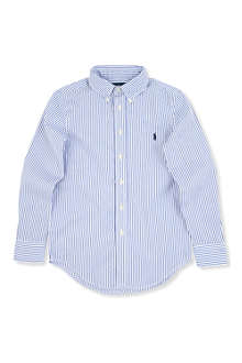 RALPH LAUREN Custom-fit striped shirt 8-16 years