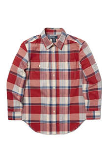 RALPH LAUREN Checked Matlock shirt