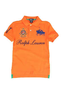 RALPH LAUREN Crest polo shirt 8-16 years