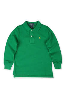 RALPH LAUREN Classic long-sleeved polo shirt 8-16 years