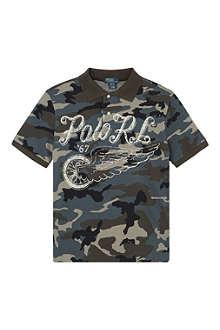 RALPH LAUREN Classic camo polo shirt S-XL