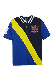 RALPH LAUREN Novelty crest polo shirt S-XL