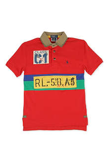RALPH LAUREN Rafting polo shirt 8-16 years
