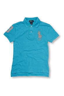 RALPH LAUREN Neon Big Pony polo shirt 8-16 years