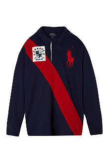 RALPH LAUREN Banner polo tops knit