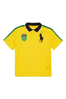 RALPH LAUREN Brazil polo shirt S-XL