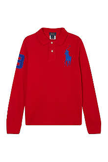 RALPH LAUREN Large pony polo shirt S-XL