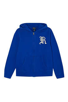 RALPH LAUREN Zip-through hoodie S-XL