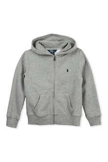 RALPH LAUREN Cotton fleece hoody 7-16 years