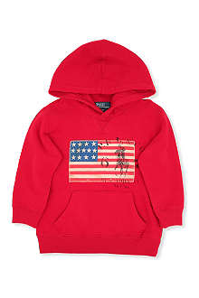 RALPH LAUREN Shawl collar hoodie 8-16 years