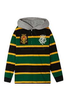 RALPH LAUREN Hood rugby