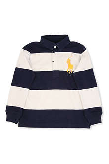 RALPH LAUREN Big Pony rugby shirt 8-16 years