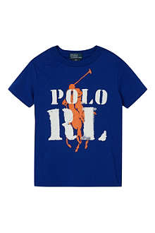 RALPH LAUREN Graphic cotton t-shirt S-XL