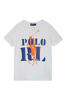 RALPH LAUREN Graphic cotton t-shirt S-XL