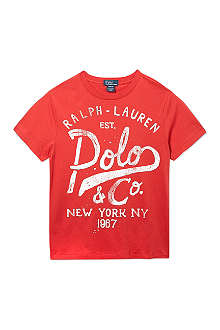 RALPH LAUREN Graphic t-shirt S-XL