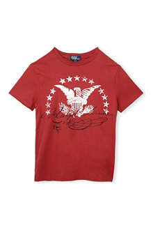 RALPH LAUREN Eagle print t-shirt 2-7 years