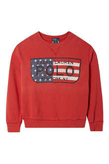 RALPH LAUREN New York crewneck jumper S-XL