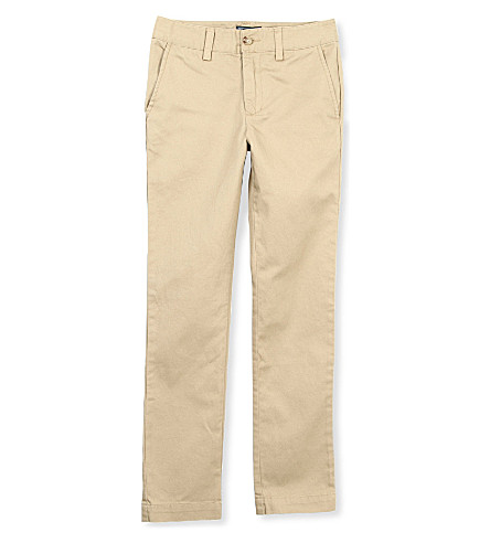 RALPH LAUREN Skinny chinos 8-16 years (Khaki