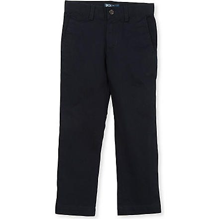 RALPH LAUREN Skinny chinos 8-16 years (Navy