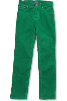 RALPH LAUREN Slim-fit five-pocket trousers 8-16 years