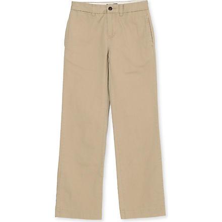 RALPH LAUREN Classic chino trousers 8-16 years (Khaki