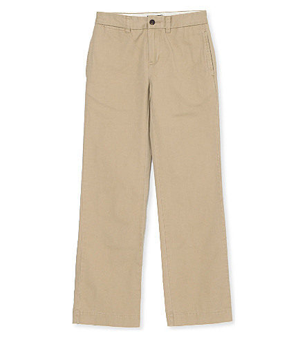 RALPH LAUREN Classic chino trousers 8-16 years (Khaki