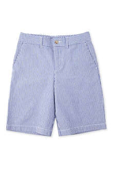RALPH LAUREN Seersucker shorts 8-16 years