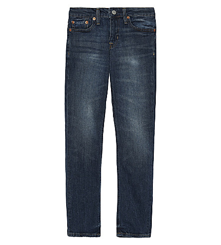 RALPH LAUREN Super skinny logo jeans 8-16 years (Magnus+wash