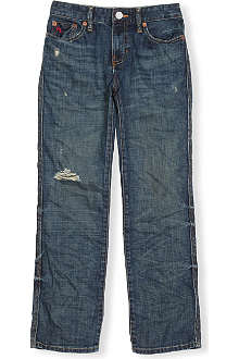 RALPH LAUREN Vintage slim-fit jeans 8-16 years