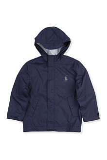 RALPH LAUREN Stadium hooded raincoat