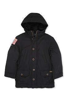 RALPH LAUREN Utility hooded parka jacket S-XL
