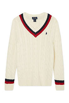 RALPH LAUREN Cricket jumper S-XL