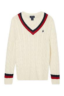 RALPH LAUREN Cricket jumper S-XL