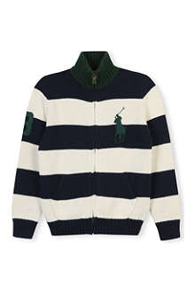 RALPH LAUREN Striped cardigan