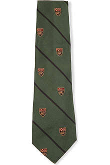RALPH LAUREN Shield silk tie 1-6 years