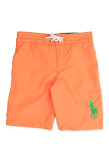 RALPH LAUREN Sanibel Big Pony swim shorts 8-16 years