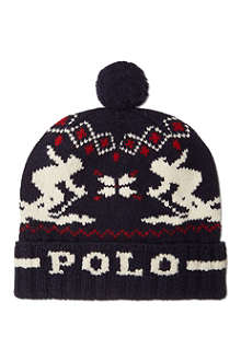 RALPH LAUREN Skiing bobble hat