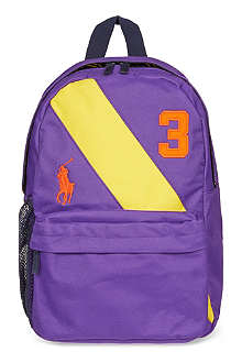 RALPH LAUREN Mini banner backpack
