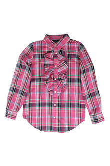 RALPH LAUREN Checked shirt 8-16 years
