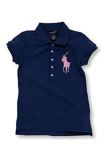 RALPH LAUREN Beaded polo shirt 7-16 years