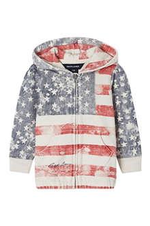 RALPH LAUREN Flag hoodie S-XL