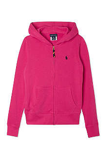RALPH LAUREN Hooded zip-up jumper S-XL