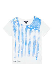 RALPH LAUREN Neon flag t-shirt S-XL