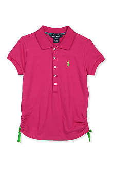 RALPH LAUREN Stretch-mesh cotton polo shirt S-XL