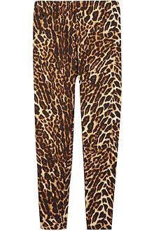 RALPH LAUREN Ocelot leopard print leggings S-XL