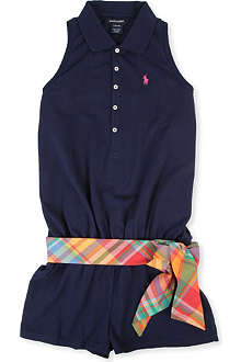 RALPH LAUREN Polo shirt playsuit 8-16 years