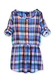RALPH LAUREN Checked shirt dress 8-16 years