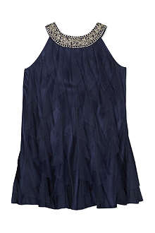 RALPH LAUREN Embellished cascade dress 8-16 years